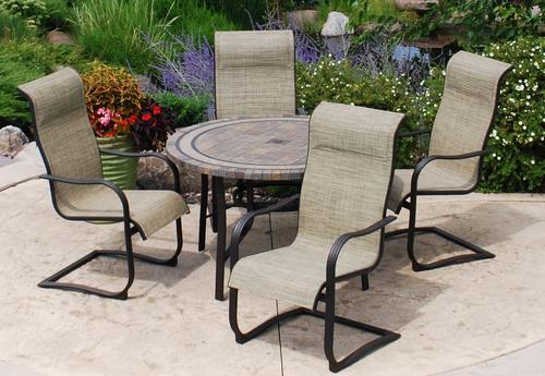 - Backyard Creations® Laguna 5-Piece Dining Patio Set At Menards®