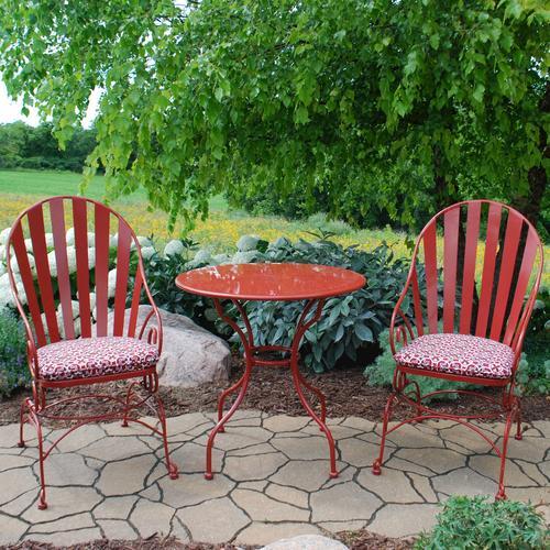 Backyard Creations® Vineyard II 3 Piece Bistro Patio Set At Menards®