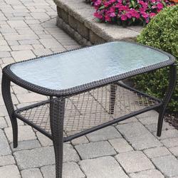 ccb885d7ae07 Backyard Creations® Maple Grove Rectangular Coffee Patio Table at Menards®
