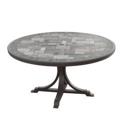 Backyard Creations® Gannett Peak Round Dining Patio Table At ...