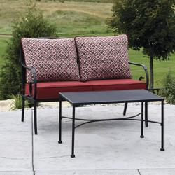 4d87c08838ed Backyard Creations® Wrought Iron Collection 2-Piece Seating Patio Set