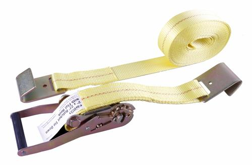 "FIRSD™ 2"" x 27' Yellow Ratchet Strap Tie Down at Menards®"