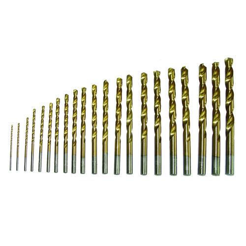 Tool Shop® Titanium Twist Drill Bit Set - 21 Piece at Menards®