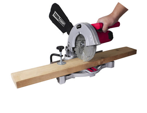 Tool Shop 7 5 Amp Corded 7 1 4 Single Bevel Compound Miter Saw