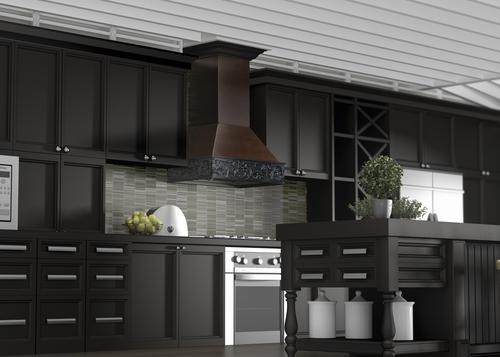 Zline 36 Designer Series Wooden Wall Mount Range Hood At