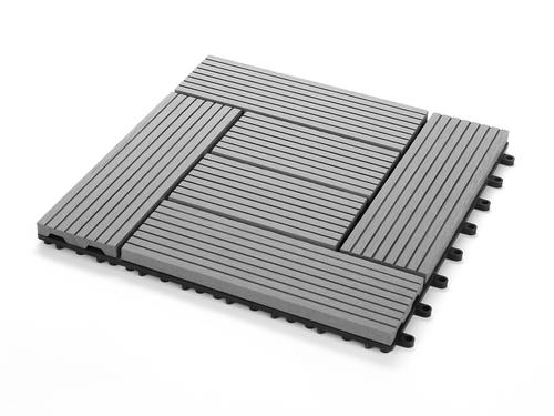 Zometek 12 X Composite Deck Tile 6 Pack