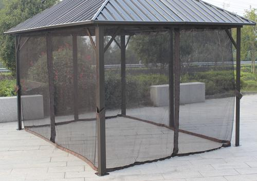 10 X12 Concord Steel Roof Gazebo Replacement Mosquito Netting At Menards