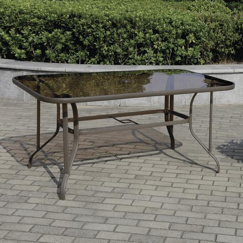 Backyard Creations Larissa Rectangular Dining Patio Table At Menards