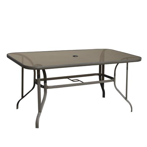 Backyard Creations Larissa Rectangular Dining Patio Table