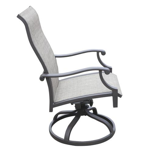 Sensational Backyard Creations Parker Bay Swivel Rocker Patio Chair 2 Caraccident5 Cool Chair Designs And Ideas Caraccident5Info