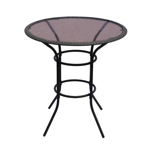 backyard creations® riverdale high bistro table at menards®
