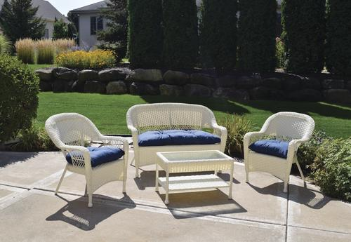 Backyard Creations® Newport Collection 4-Piece Seating Patio Set & Backyard Creations® Newport Collection 4-Piece Seating Patio Set at ...