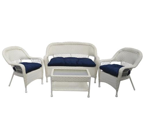 Backyard Creations Newport Collection 4 Piece Seating Patio Set