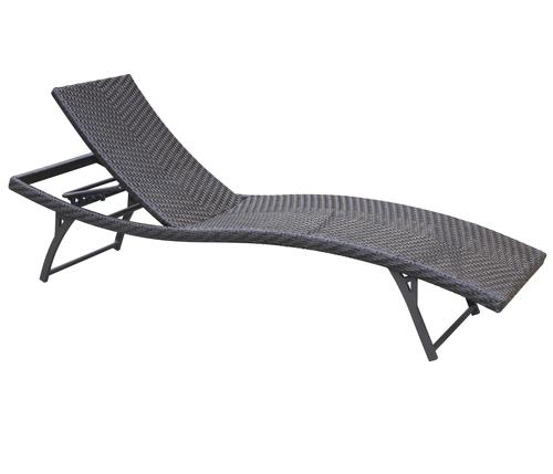 Cabo Patio Furniture.Backyard Creations Cabo Woven Chaise Lounge Chair At Menards