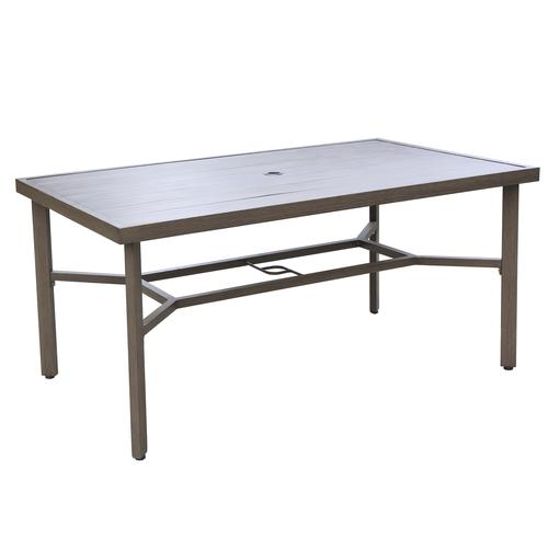 Backyard Creations Danbury Rectangular Dining Patio Table At Menards