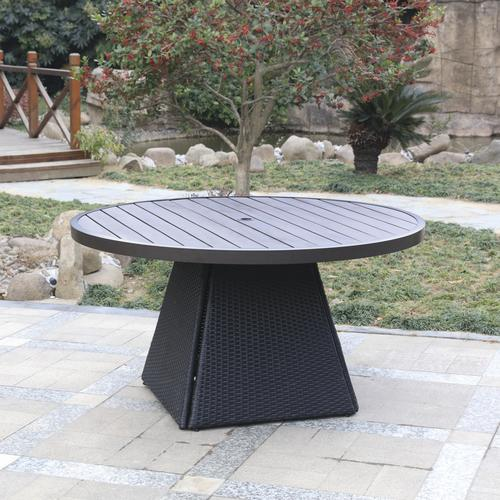 d48f62bf919 Backyard Creations® Emory Point Round Dining Patio Table at Menards®