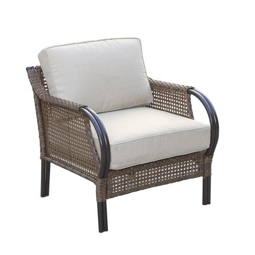 Backyard Creations Preston Club Patio Chair At Menards