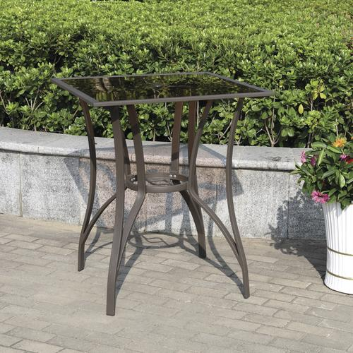 Backyard Creations Camden Square High Dining Patio Table At Menards