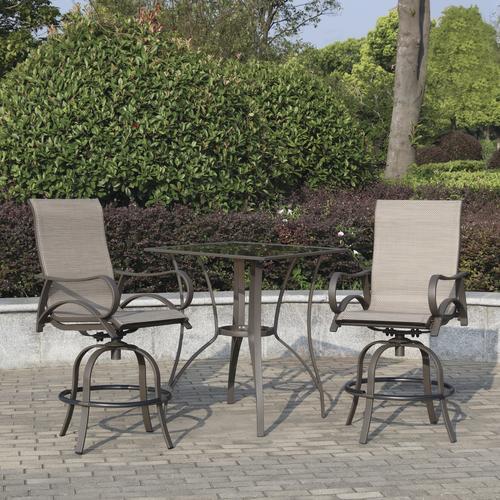 Backyard Creations® Camden Collection 3-Piece High Dining ...
