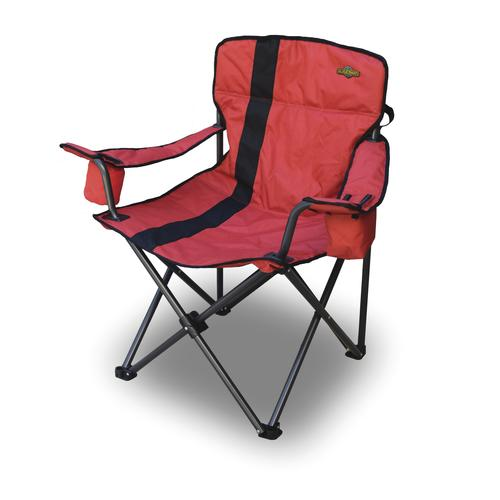 Incredible Guidesman Deluxe Folding Quad Patio Chair With Cooler Gmtry Best Dining Table And Chair Ideas Images Gmtryco