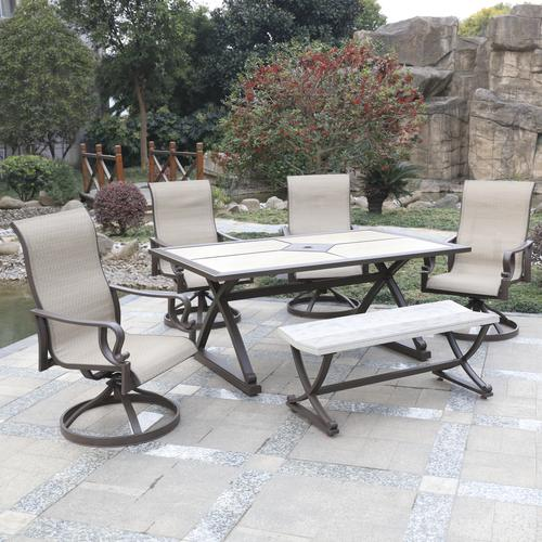 Backyard Creations® River Ridge Collection 6 Piece Dining Patio Set