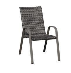 Backyard Creations 174 Larissa Wicker Stack Patio Chair At
