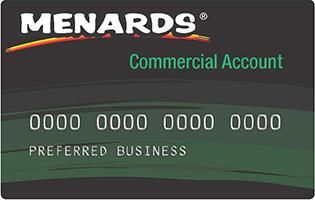 menards commercial card Credit Programs at Menards®