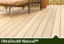 UltraDeck® Low-Maintenance Composite Decking & Railing at