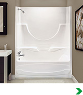 3 piece tub shower combo.  Bathtubs Showers at Menards