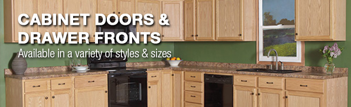 Cabinet Doors  Drawer Fronts At Menards - Replacement cabinet doors and drawer fronts