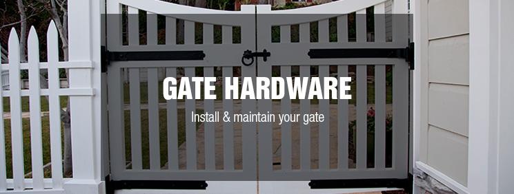 Gate Hardware at Menards®