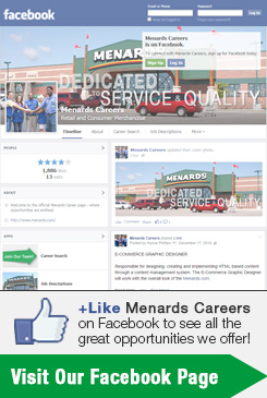 College and Recruiting Events at Menards®