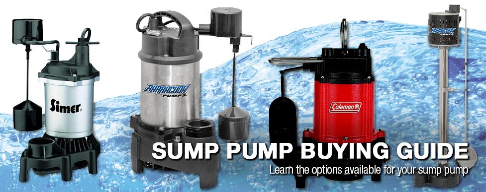 Sump Pump Buying Guide at Menards