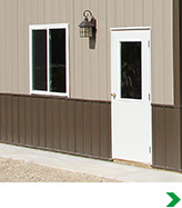 Pole Barn Post Frame Materials at Menards . Menards Exterior Lighting. Home Design Ideas