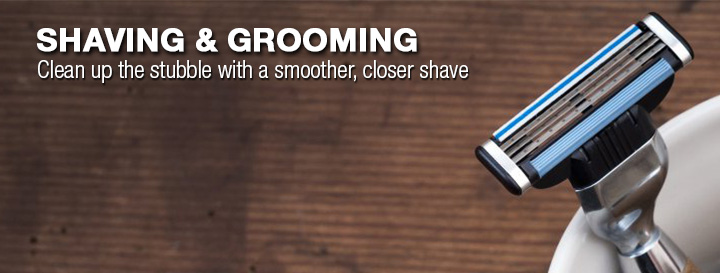 Shaving and Grooming. Clean up the stubble with a smoother, closer shave.