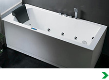 48x48 corner tub shower.  Bathtubs at Menards