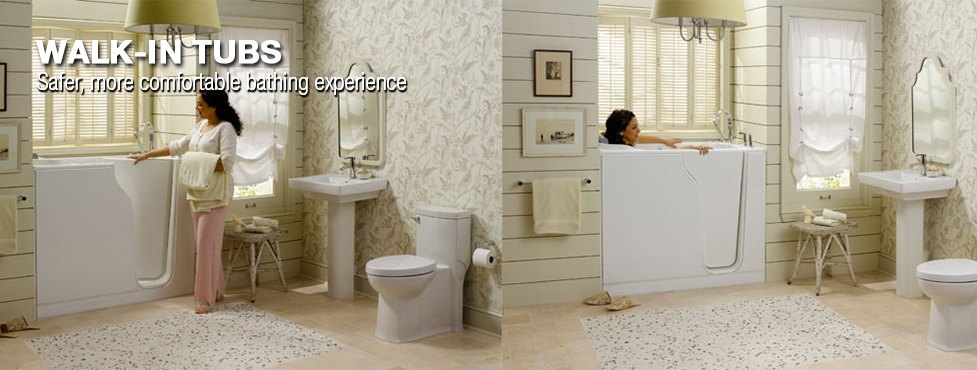 Home Accessibility Walk-In Tubs at Menards®