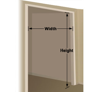 Custom Bifold Doors Measurement Instructions