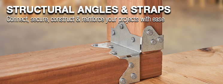 Structural Angles & Straps at Menards®