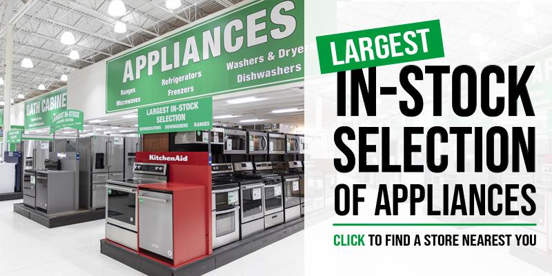 Appliances At Menards