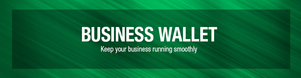 Business Wallet at Menards®