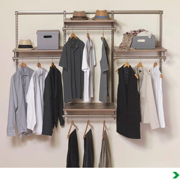 Closet Organizers At Menards®