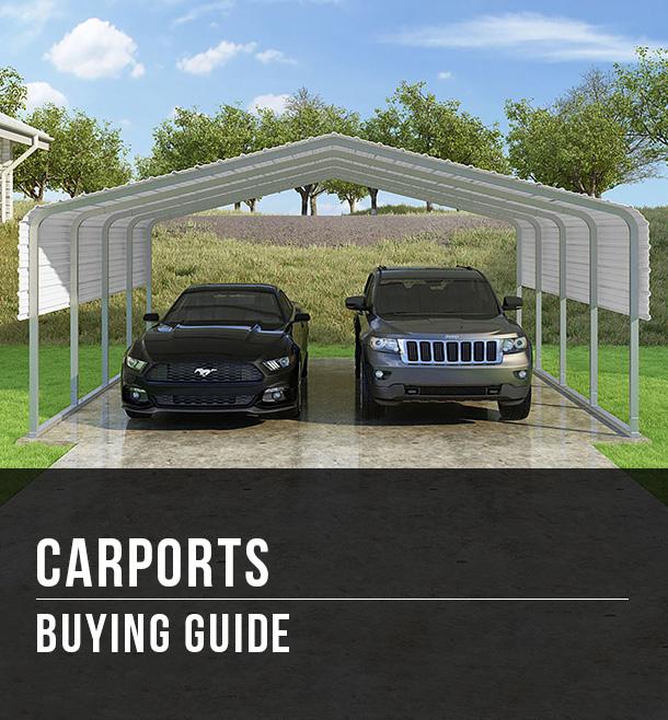 Carports Buying Guide At Menards
