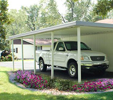 Portable Garages For Sale >> Carports Portable Garages At Menards
