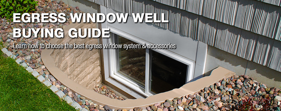 Egress Window Well Buying Guide At Menards Fascinating Basement Bedroom Window Style Property