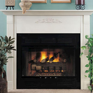 Gas Wood Fireplace Buying Guide At Menards