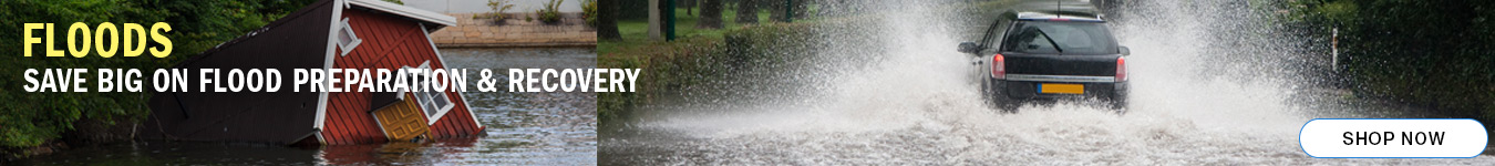 Floods. Save BIG on Flood Preparation and Recovery. Shop now.