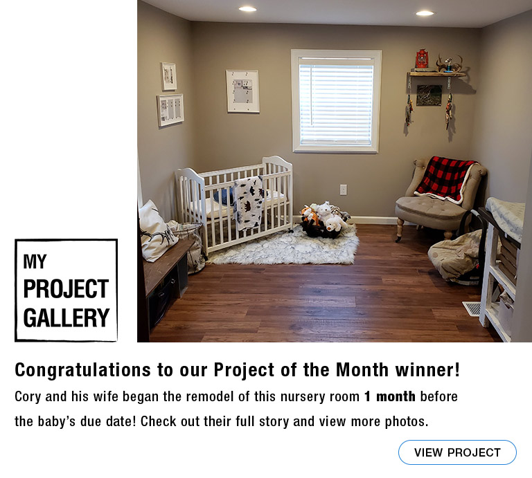 Congratulations to our My Project Gallery Project of the Month winner! View the project now.