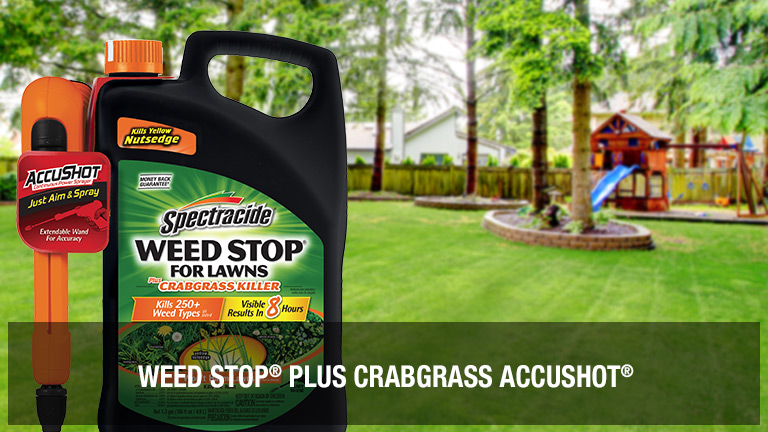 1.33 gallons Weed Stop Plus Crabgrass Accushot on sale for $12.44 each. Shop now.