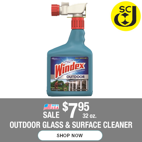32-oz Outdoor Glass and Surface Cleaner on sale for $7.95 each. Shop now.